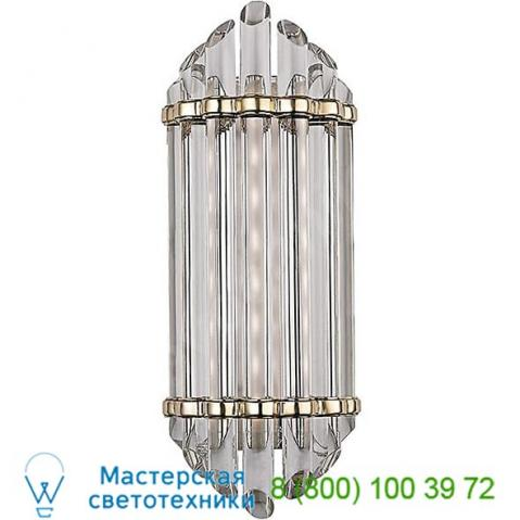 Hudson valley lighting 414-agb albion led vanity light, светильник для ванной