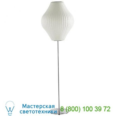 Nelson bubble lamps nelson pear lotus floor lamp h770lfsbns, светильник