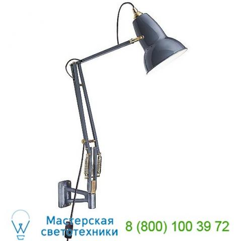 Original 1227 brass wall mounted lamp 31515 anglepoise, бра