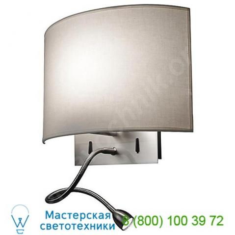Wall street fl wall light bover 1118505flu/p339, бра