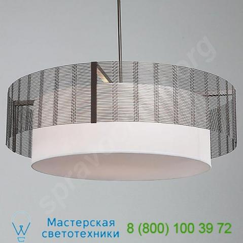Chb0020-38-fb-sh-001-e2 hammerton studio downtown mesh drum chandelier with shade light, светильник